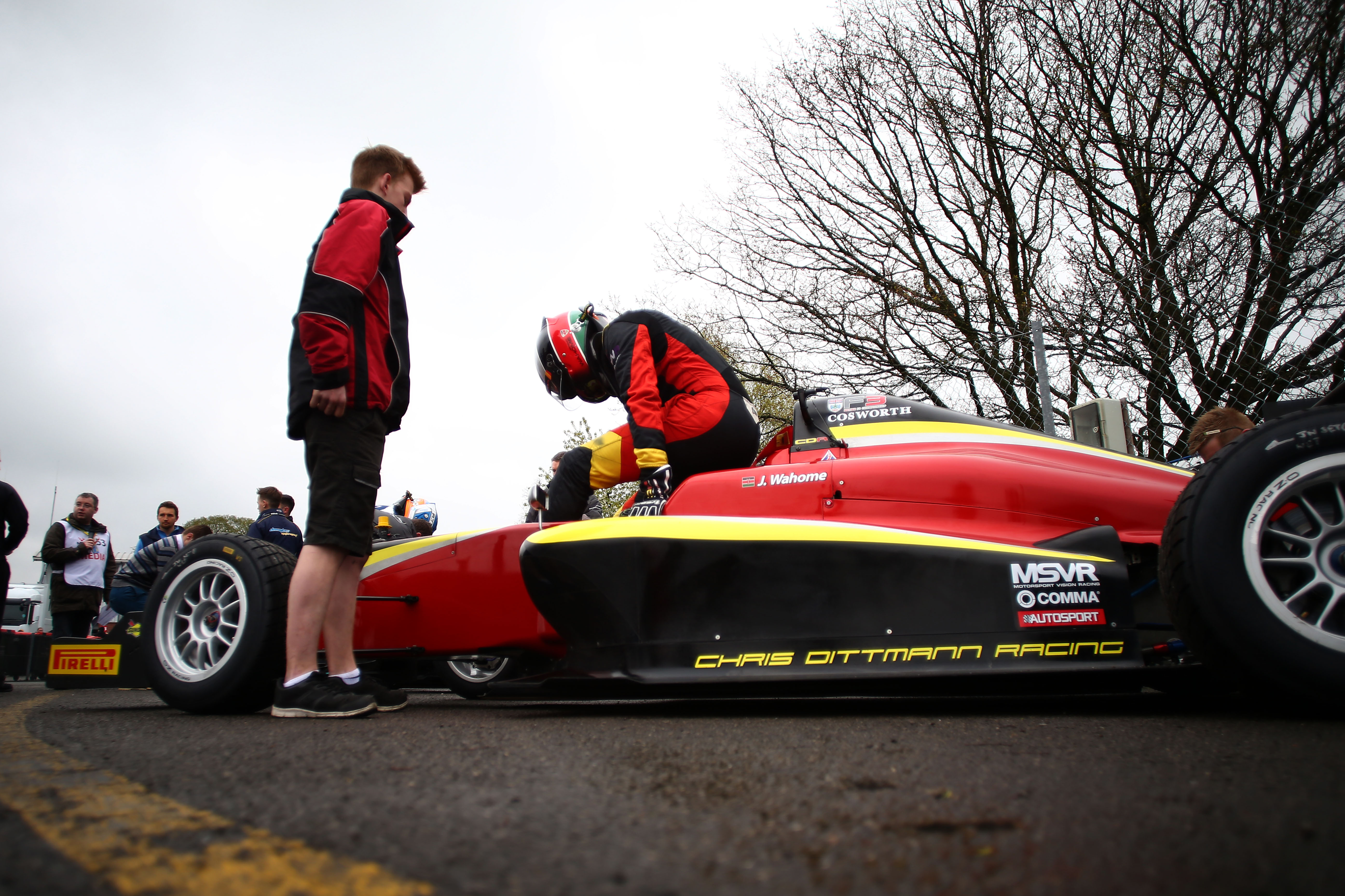 Jeremy Wahome (KEN) Chris Dittmann Racing BRDC F3