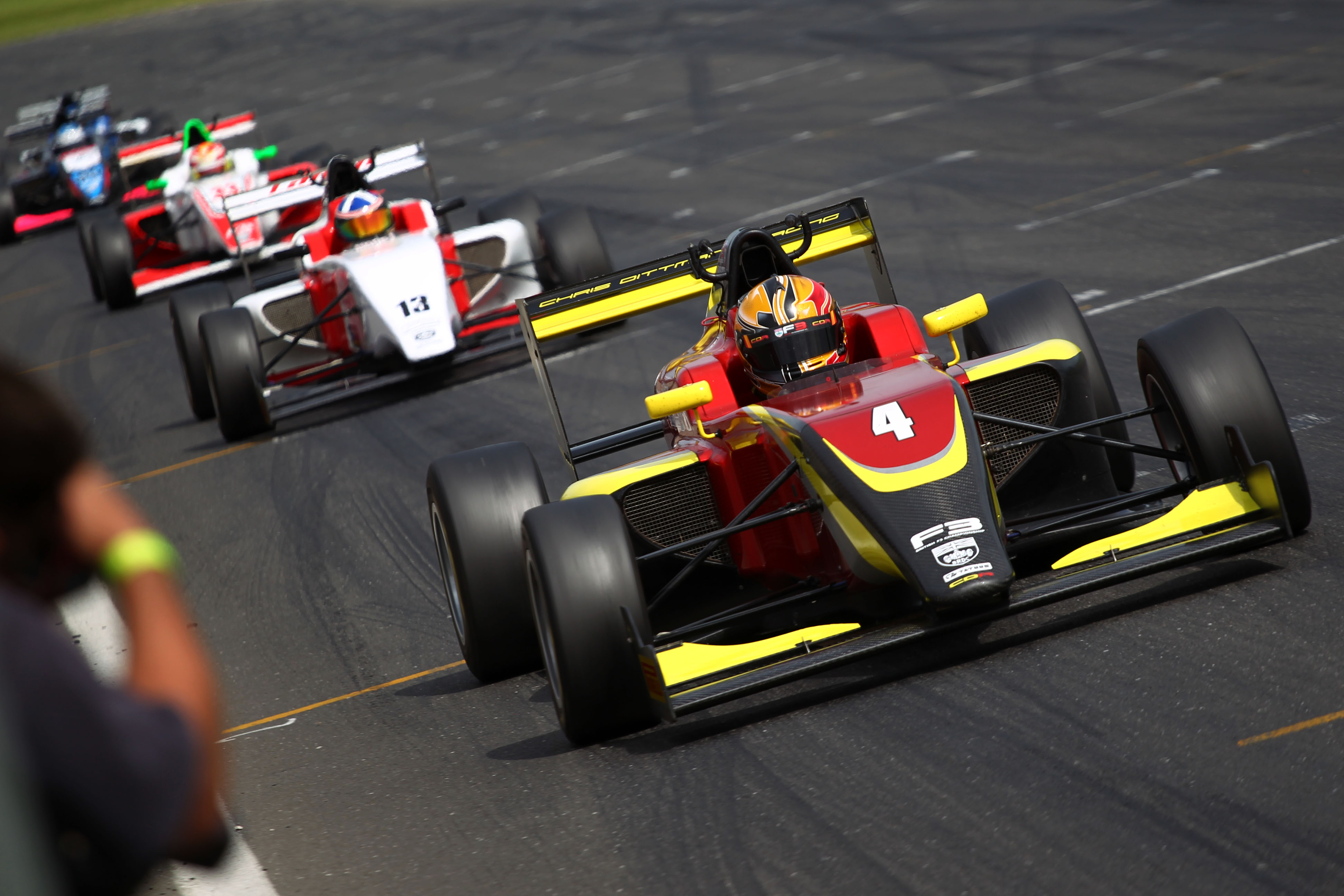 Omar Ismail (GBR) Chris Dittmann Racing BRDC F3