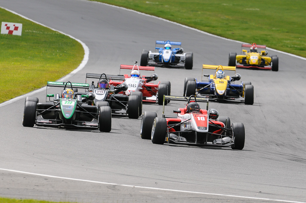Gino Ussi - Chris Dittmann Racing Dallara F312 Mercedes HWA