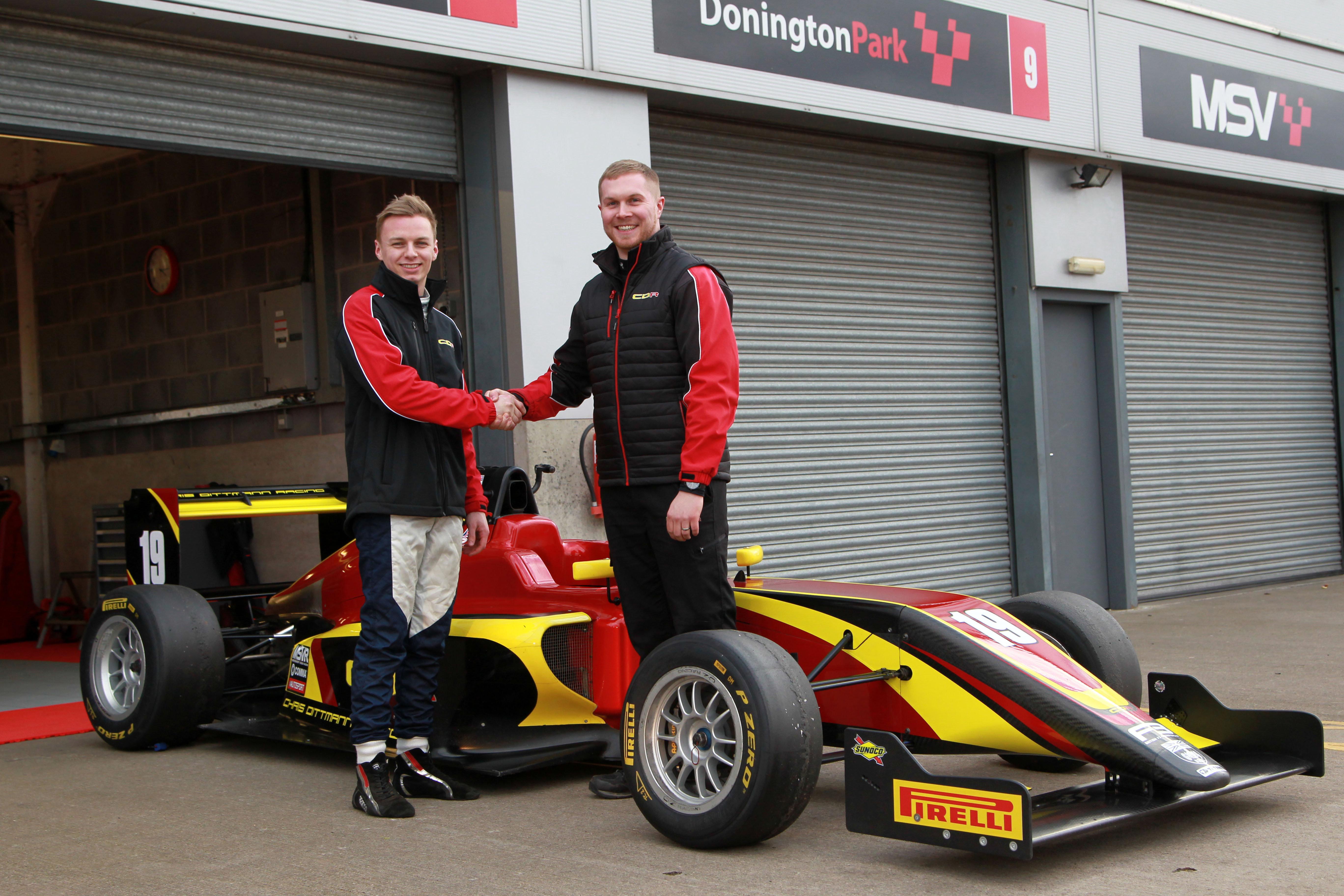 Harry Webb (GBR) Chris Ditman Racing British F3